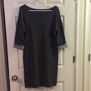 Gray Sweater Dress / Tunic